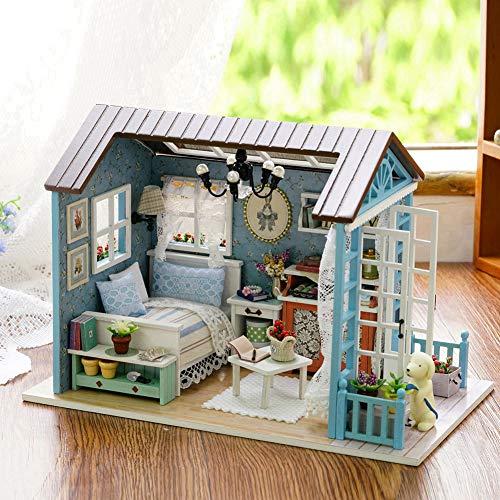 Casa de Bricolaje, Materiales de Primera Calidad para Entrenar la Paciencia, Kit de Bricolaje para la casa, Resistente para Usar, Oficina Segura para el hogar