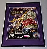 Growlanser Generations 2004 PS2 Framed 11x14 ORIGINAL Advertisement