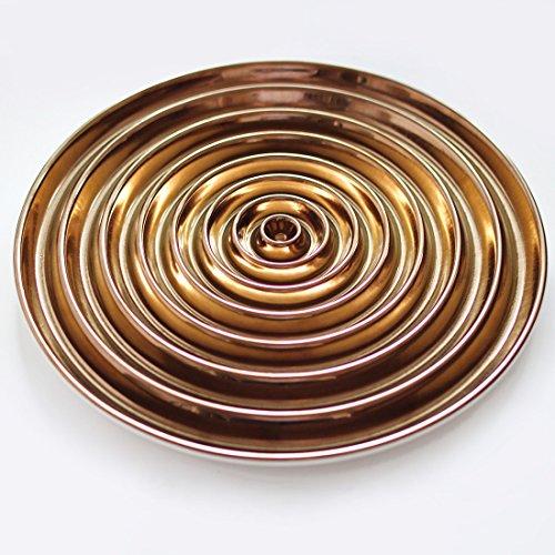 Design-Obstschale VERTIGO aus Keramik - (70662)