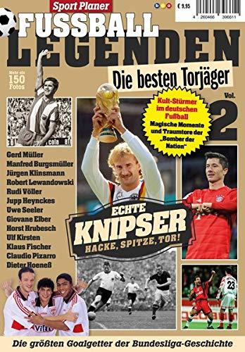 Sportplaner Fussball Legenden Vol. 2: Die besten Torjäger