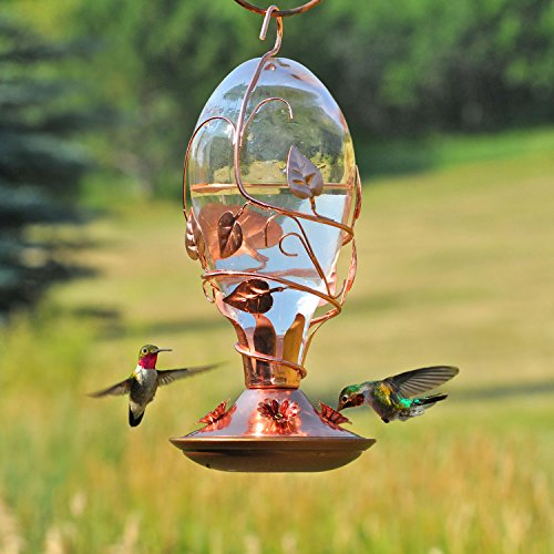 Perky Pet 8110H-1 Bird Feeder, Copper
