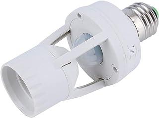 360 graden PIR Motion Sensor LED-lamp houder AC 110-220V E27 socket gloeilamp houder