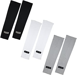 TOP COOL UV Cover Sun Protective Skin Cool Arm Toshi Sleeve 3 Pairs