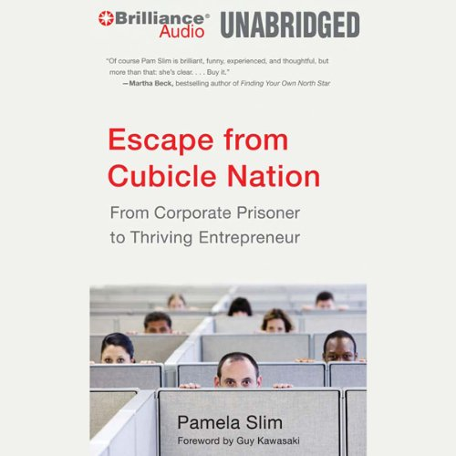 Escape from Cubicle Nation audiobook cover art