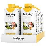 foodspring CocoWhey pacchetto da 12, Mango, 12x330ml,Il drink proteico isotonico