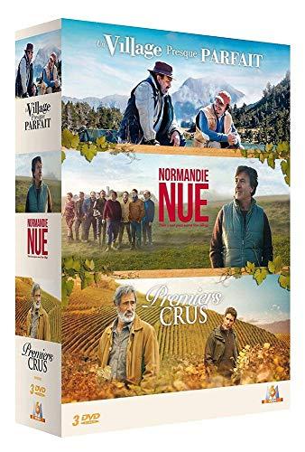 Coffret comédies françaises 3 films : Normandie nue + Un village presque parfait + Premiers crus [Francia] [DVD]
