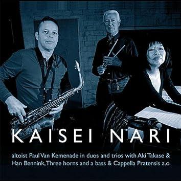 Kaisei Nari (Feat: Aki Takase-Han Bennink-Three Horns and a Bass-Cappella Pratensis A.o.)