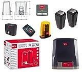 BFT Deimos Ultra BT - Kit A600 - Motor reductor para puertas correderas de 24 V, hasta 600 kg, peso con tecnología D-Track R925268 00002