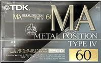 TDKメタルポジションTYPE-Ⅳ カセットテープ MA-60R