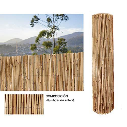 Comercial Candela Cañizo de Bambu Pelado 1,5x3 Metros