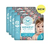 The Honest Company | Baby Diapers with Trueabsorb Technology | My Deer | Size 3 |108Count