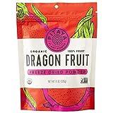 Pitaya Plus, Organic Freeze Dried Red Dragon Fruit Powder, USDA and Oregon Tilth Certified Organic (8oz)