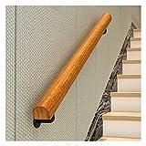 DYB Balaustres Pasamanos Escaleras Pasamanos de escaleras de Madera Loft Cubierta de Ancianos Antideslizante Barandas Corredor de Apoyo de Rod (Size : 100cm)