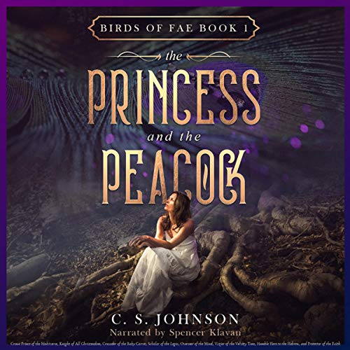 The Princess and the Peacock audiobook cover art