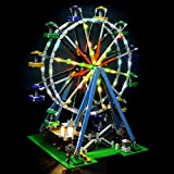 LIGHTAILING Conjunto de Luces (Creator Noria) Modelo de Construcción de Bloques - Kit de luz LED Compatible con Lego 10247 (NO Incluido en el Modelo)