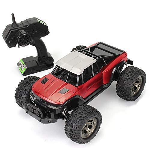 1:12 2WD Coche todoterreno con control remoto, vehículo de carreras electrónico de gran tamaño de 2,4 Ghz, multiterreno, alta velocidad, 25 km / h, Buggy, juguete eléctrico para pasatiempos con bater