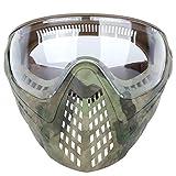 DETECH Máscara táctica completa para casco Airsoft con gafas de protección intercambiables y acoplamiento para casco.