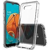 Sucnakp for LG K31 Case LG Phoenix 5 Case LG Fortune 3 Case LG K300 Case LG Risio 4 Case Premium Clear Back Panel + TPU Bumper Cover for LG K31(YKL Clear)
