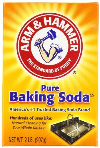 Arm & Hammer 3320001140EA Baking Soda, 2lb Box