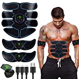 Abs Stimulator Ultimate Muscle Toner, EMS Abdominal Toning Belt for Men and Women, Arm and Leg...