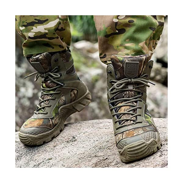 Herrenschuhe Armeestiefel Tarnung Trekking Schnürer Wanderstiefel Outdoor Neu D