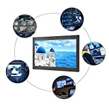 Wendry 13,3'-TFT-Monitor, PC-Monitor, Videoüberwachungsanlage, Videokamera und Computer (HDMI, VGA, AV, USB, 16: 9,1920x1080,400CD/㎡, 1000: 1)(EU)