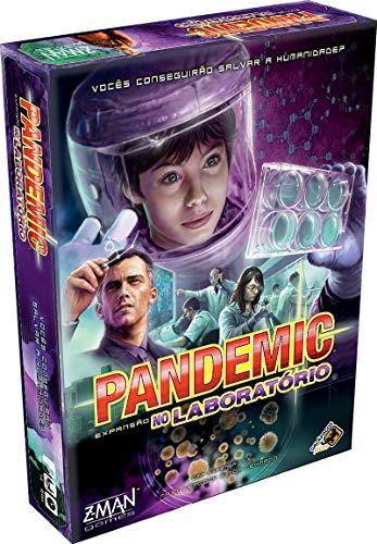 Pandemic: No Laboratório (Expansão), Galápagos Jogos, Multicor