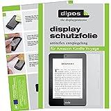 dipos I 3X Schutzfolie matt kompatibel mit Amazon Kindle Voyage Folie Bildschirmschutzfolie