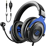 EKSA E900 Gaming Headset - Xbox one Headset Wired Gaming Headphones with Noise Canceling Mic, Over Ear Headphones Compatible with PS4 Controller, PC, Xbox one, Laptop
