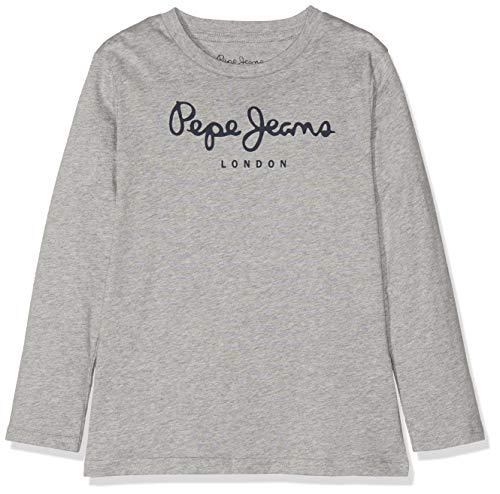 Pepe Jeans New Herman Jr Camiseta, Gris (Grey Marl 933), 2 años...