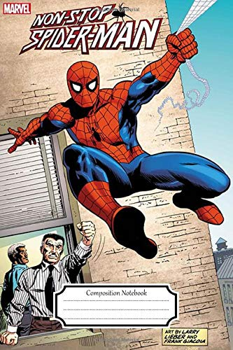 Composition Notebook:Spiderman #18 Cartoon Movie Journal/Notebook Blank Lined Ruled 6x9 120 Pages