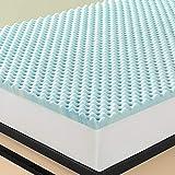 Zinus Swirl Gel Memory Foam Topper, 160 x 200 x 7,62 cm