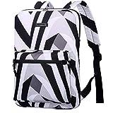 JiuRui Tablets oder Telefon Etuis & Hüllen, Laptop-Tasche Leinwand-Leicht-Laptop-Tasche, Mode Laptop Rucksäcke, 15,6 Zoll (Color : Zebra, Size : 15-15.6inch)