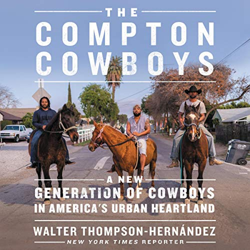 The Compton Cowboys audiobook cover art