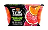 Del Monte Refreshers Grapefruit and Oranges in Pomegranate Fruit Water Cups, 7 Ounce (2 Count per Pack, Pack of 6)
