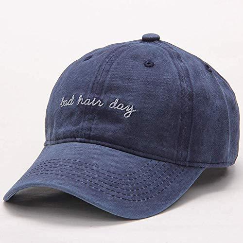 Baseball Cap Cap Cap Hat gewassen baseballmuts Vrouwen effen papa hoed mannen slecht haar dag brief borduurwerk paar pet roze zwart trucker hoed