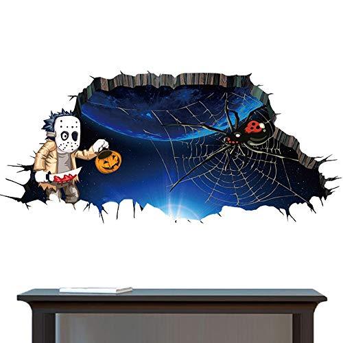 Wandaufkleber Umweltschutz Happy Halloween Home Haushalt Wandaufkleber Wandbild Dekor Aufkleber Abnehmbar Neu