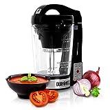 Duronic BL78 (Reconditionné) Blender chauffant à soupe en verre transparent - Créez vos soupes et gaspachos par simple pression d'une touche !