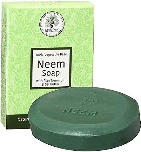 Madina Neem Advance Soap [Pack of 2 - Green - 3.5 oz.]