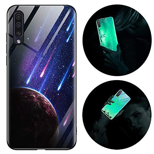 Funda Samsung Galaxy A50, Luminosa Silicona Funda para Samsung A50/A50S/A30S, Carcasa con...