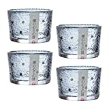 BESTonZON Tazas de Sake Japonesas Conjunto de Servicio de Sake de Vidrio Tradicional Tazas de Saki Tazas de Té Gafas de Soju Vasos de Chupito Restaurante Japonés Suministro para