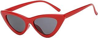 Sharplace Eye Cat Sunglasses Lunettes De Soleil Lentille Coloré Vintage Plastique Plage Voyage
