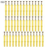 Tasselli con Vite, 8 x 60 mm, per muro pieno
