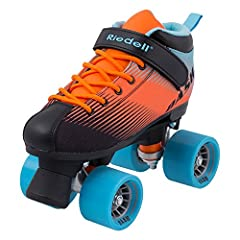 TOP-QUALITY, DURABLE ROLLER SKATES - These quad roller skates are man-made using a micro-fiber material that creates a breathable, durable skate boot. The skates have a high-impact nylon plate with strong metal trucks that are great for any skater. C...