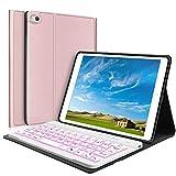 iPad Mini Keyboard Case - Boriyuan 7 Colors Backlit Detachable...