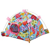 TOPINCN 7 Color Cartoon Parrot <span class='highlight'>Tent</span> <span class='highlight'>Canvas</span>   Coral Mat Hut <span class='highlight'>Cage</span> Snuggle Bed Mat For Parrot <span class='highlight'>Bird</span>s Hamster Small Pet Sleeping <span class='highlight'>Nest</span>(04#Heart-shaped)
