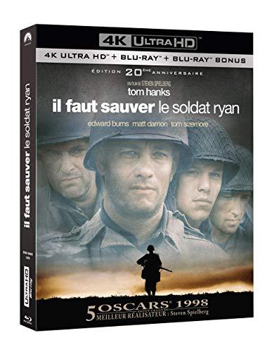 Il Faut sauver Le Soldat Ryan [4K Ultra HD Blu-Ray Bonus-Édition 20ème Anniversaire]
