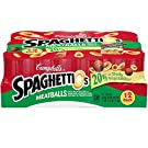 SpaghettiOs Campbell's Canned Pasta with Meatballs, 15.6 Ounce. Can, Pack of 12
