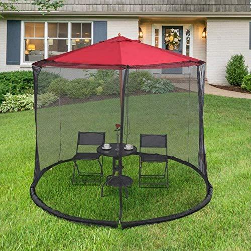 Alston Wat 10' Outdoor Garden Umbrella Table Screen Parasol Mosquito Net Cover Bug Netting
