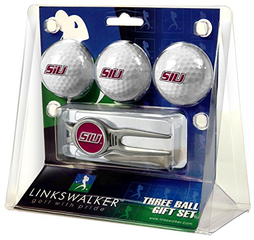 Buy Bargain NCAA Southern Illinois Salukis - Kool Tool 3 Ball Gift Pack